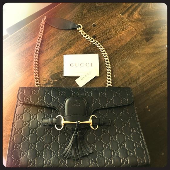7a1cd6e4c789c5 Gucci Bags | Emily Chain Shoulder Bag Mint Condition | Poshmark